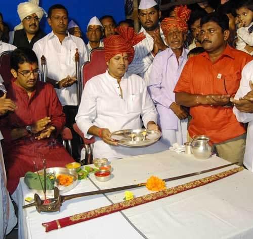 Bhavani Talwar Puja