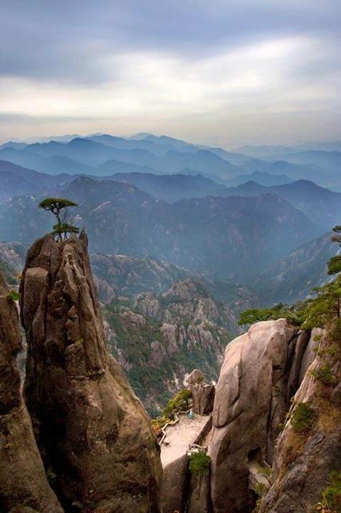 huang shan mountain range
