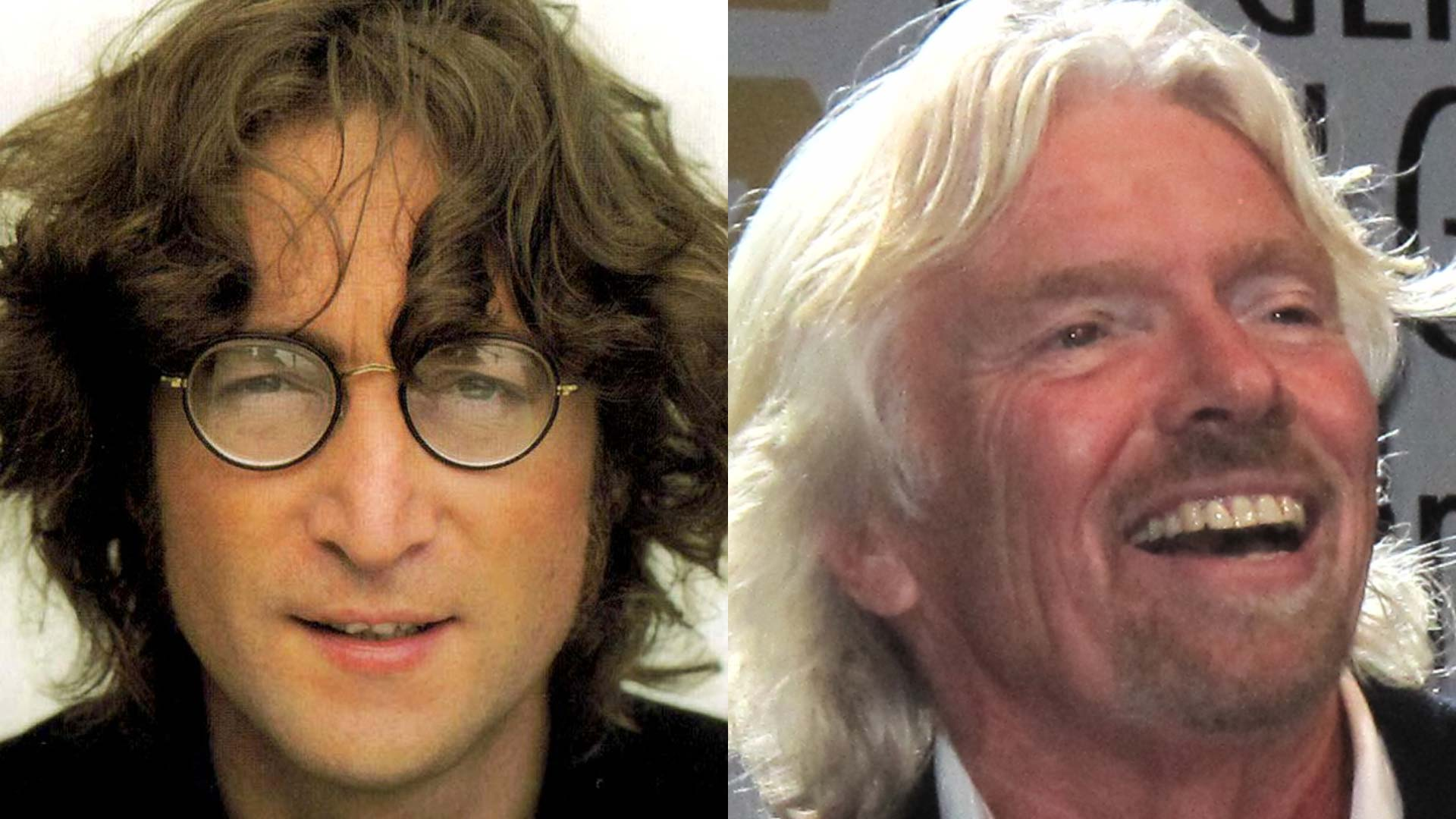 On Happiness: John Lennon & Richard Branson